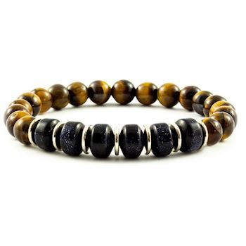 Armbånd Tiger Eye Design
