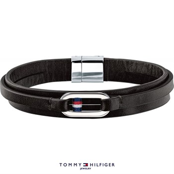 Tommy Hilfiger Casual Sort Læder