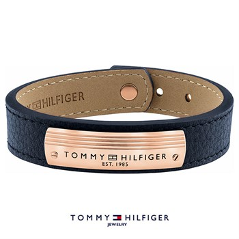 Tommy Hilfiger Armbånd Blue & Rose Gold