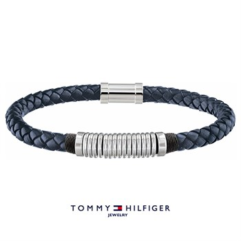 Tommy Hilfiger Armbånd Blue & Steel Ring Design