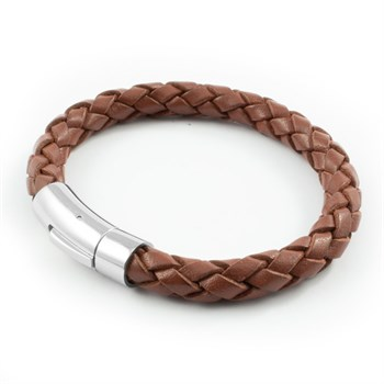 Loke Armbånd Casual Saddle Brown Læder