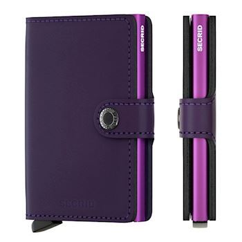 Secrid Mini Wallet Matte Purple