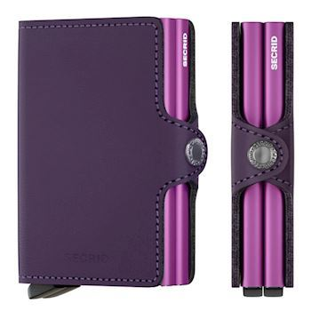 Secrid Twin Wallet Matte Purple