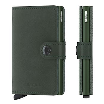 Secrid Mini Wallet Original Green Kortholder