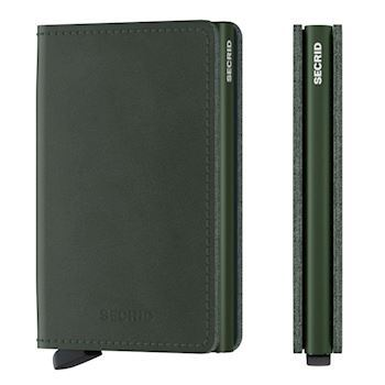 Secrid Slim Wallet Original Green Kortholder