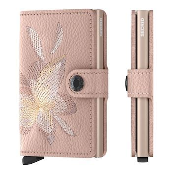 Secrid Mini Wallet Magnolia Rose Stitch