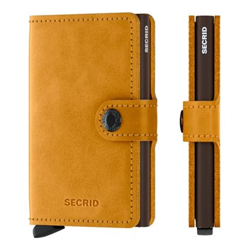 Secrid Mini Wallet Vintage Ochre
