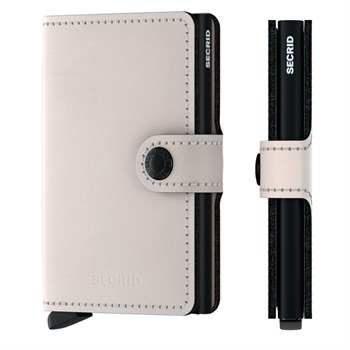 Secrid Mini Wallet Matte Chalk