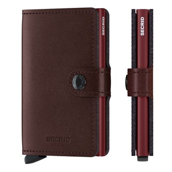 Secrid Mini Wallet Metallic Moro