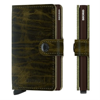 Secrid Mini Wallet Dutch Martin Olive
