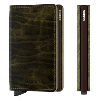 Secrid Slim Wallet Dutch Martin Olive