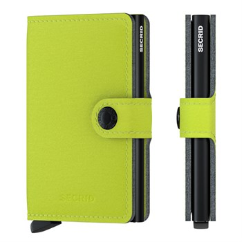Secrid Mini Wallet Yard Lime