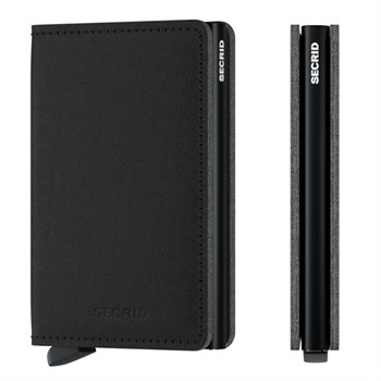 Secrid Slim Wallet Yarn Black