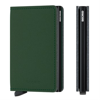 Secrid Slim Wallet Yarn Green