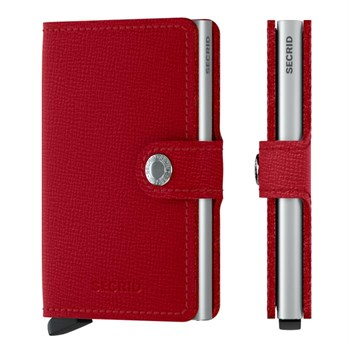 Secrid Mini Wallet Crisple Red