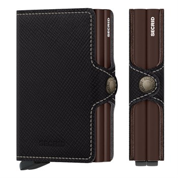 Secrid Twin Wallet Saffiano Brown