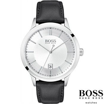 Hugo Boss Herreur Officer Steel Silver