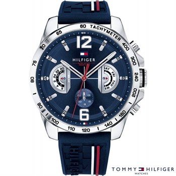 Tommy Hilfiger Ur Decker Sporty Blue 1791476