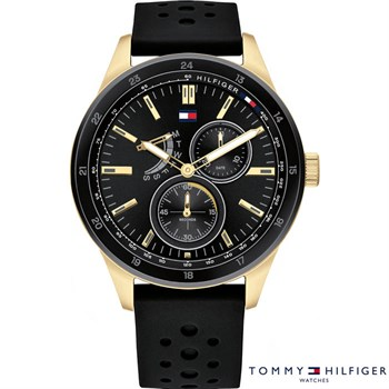 Tommy Hilfiger Ur Austin Guld Duble & Sort