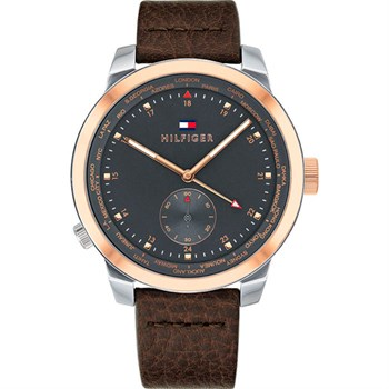 Tommy Hilfiger Herreur Mens Denim Rose Gold