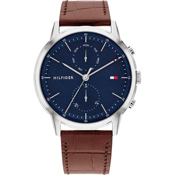 Tommy Hilfiger Ur Easton Steel & Blue