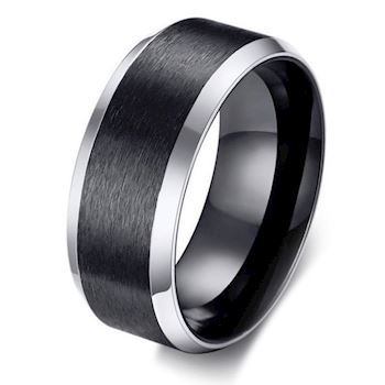 Ring Matte Black & Steel