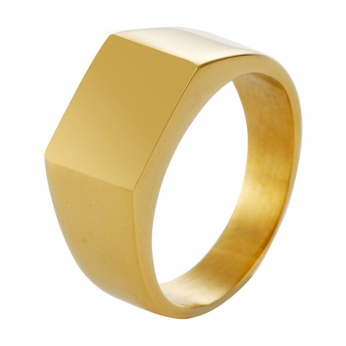 Ring Gold Casual Trend