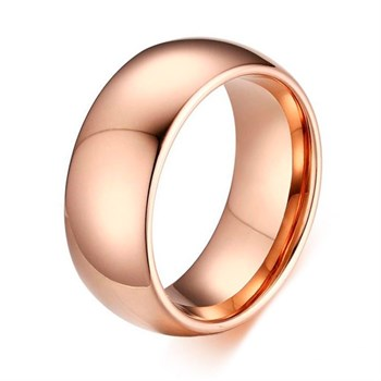 Ring Tungsten Rose Gold
