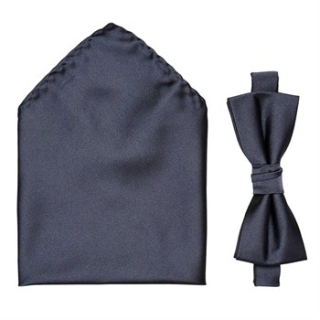 Butterfly Navy Blå Selected Bowtie