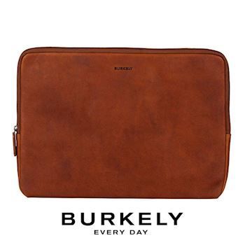 Bærbar Sleeve 15,6' Burkely Antique Avery Cognac