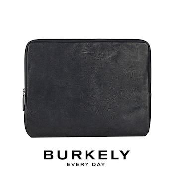 Læder Sleeve Burkely 13,3' Bærbar Antique Avery Sort