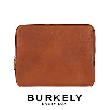 Læder Sleeve Burkely 13,3' Bærbar Antique Avery Cognac