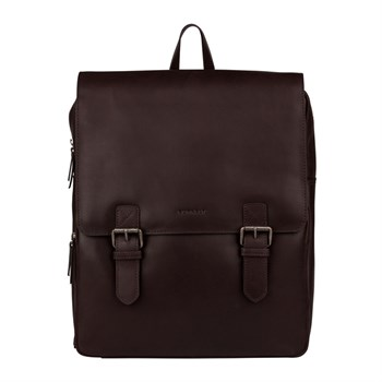 "Burkely Rygsæk ""On The Move"" Dark Brown"