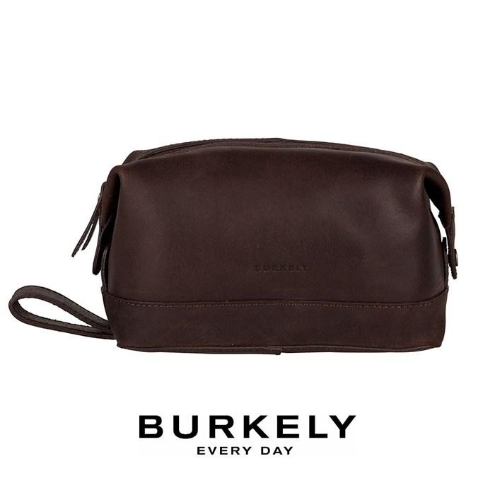 Toilettaske Burkely Vintage Riley Dark Brown