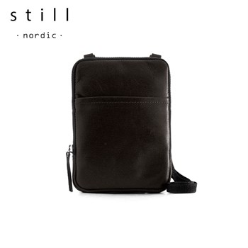 Still Nordic Clean Mini Messenger Taske Sort