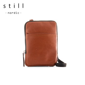 Still Nordic Clean Mini Messenger Taske Cognac