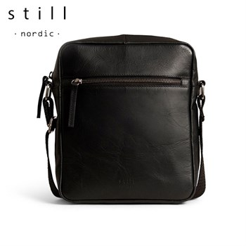 Still Nordic Clean Zip Messenger Taske Sort