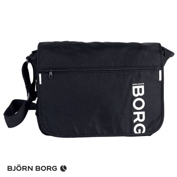 Björn Borg Messenger Taske Flyer Low Sort