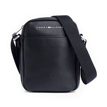 Tommy Hilfiger Mini Reporter Messenger Taske Sort