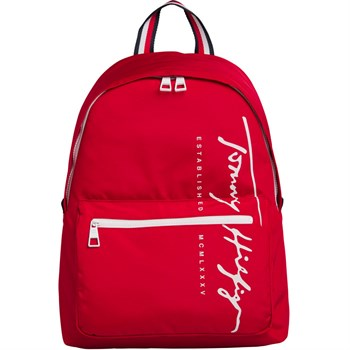 Rygsæk Tommy Hilfiger Signature Primary Red