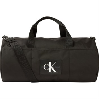 Calvin Klein Sporty Barrel Taske Sort