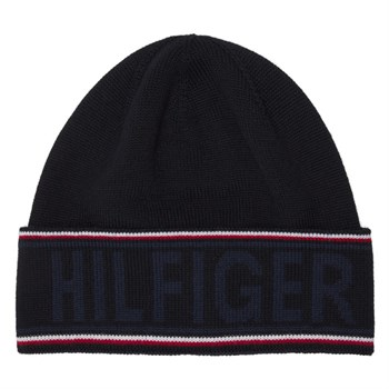 Hilfiger Beanie Hue Corporate Dark Blue