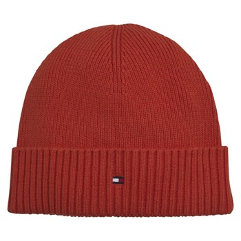 Strik Hue Hilfiger Pima Beanie Orange