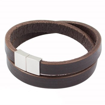 Loke Armbånd Trend Dark Brown