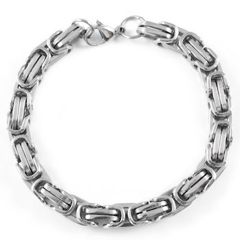 "Herre Armbånd ""Winchester"" Silver"