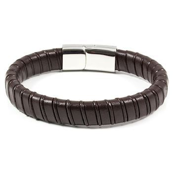 Herre Armbånd Casual Dark Brown