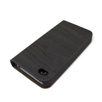 Sort Hardcase wallet til Iphone 4/4s og Samsung Galaxy S5