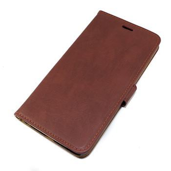 iPhone 6+ læder cover cognac