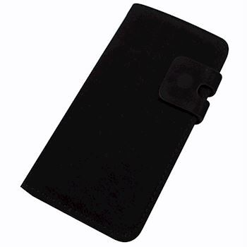 Blødt Læder cover sort iPhone 6+