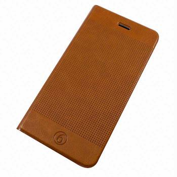 iPhone 6/6+ Brun cover wallet